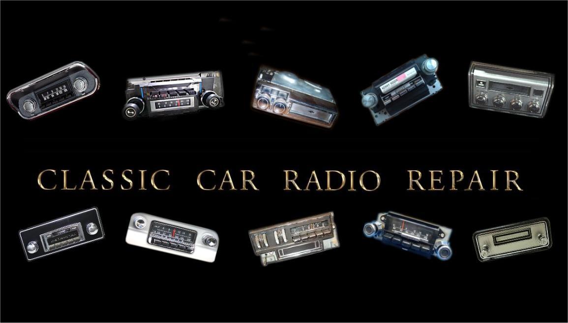 vintage car radio restoration